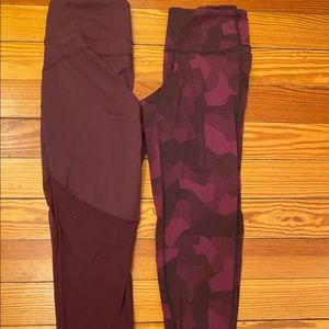 Old Navy Active Mesh Workout Leggings Size M